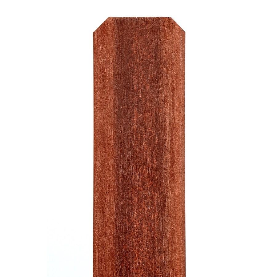 Fiberon (Common: 1/2-in x 3-1/2-in x 6-Ft; Actual: 0.44-in x 3.5-in x 5.75 Feet) Woodshades Rustic Redwood Composite (Not Metal)