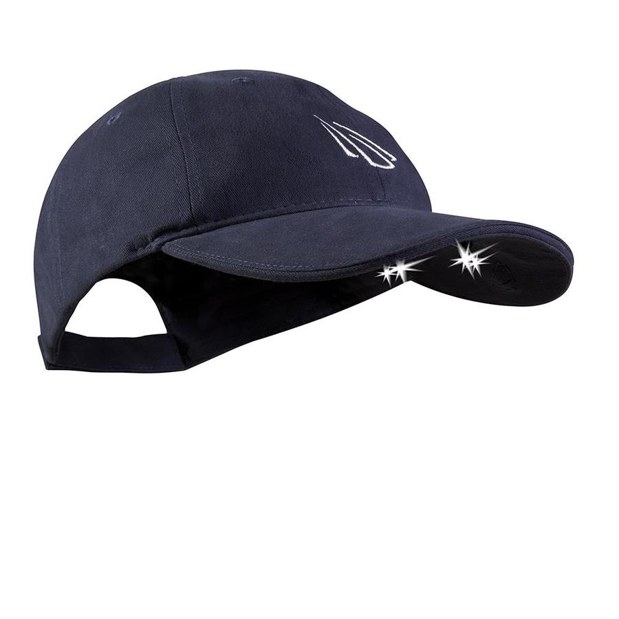 Panther Vision POWERCAP Lighted Assorted Cotton Twill Baseball Hats (Navy)