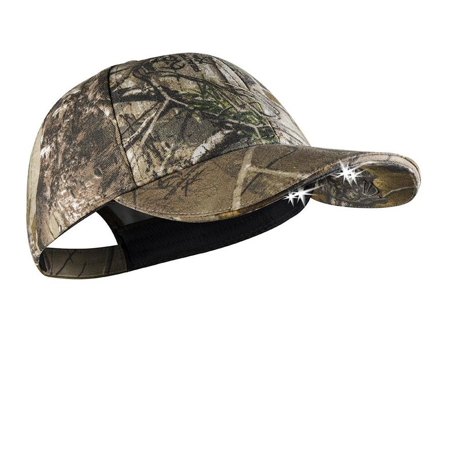 Panther Vision POWERCAP Lighted Baseball Hat -Real Tree Xtra Camo
