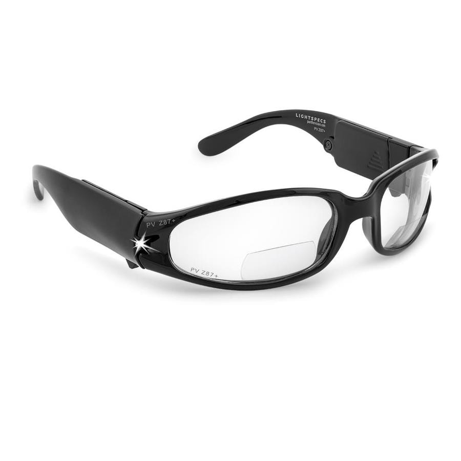 4de754aee0 Panther Vision LIGHTSPECS LED Bifocal Plastic Anti-Fog Lighted Safety  Glasses