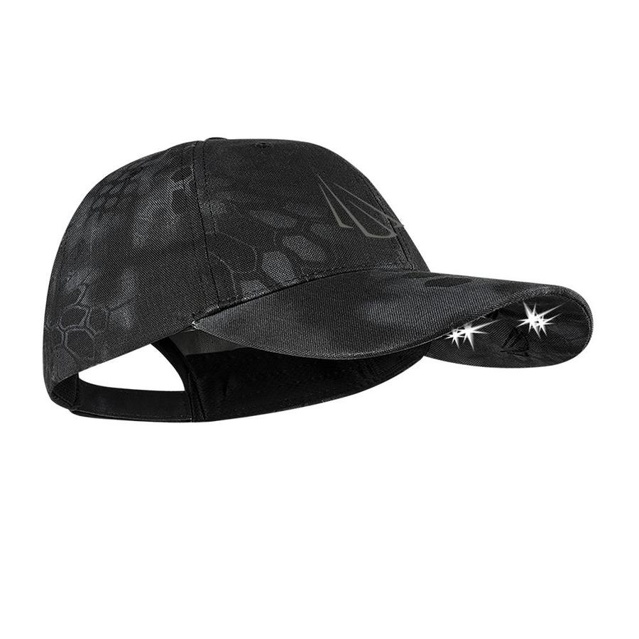 Panther Vision One Size Fits Most Unisex Contrasting or Matching Powercap Logo On Front Camo Polyester Baseball Cap