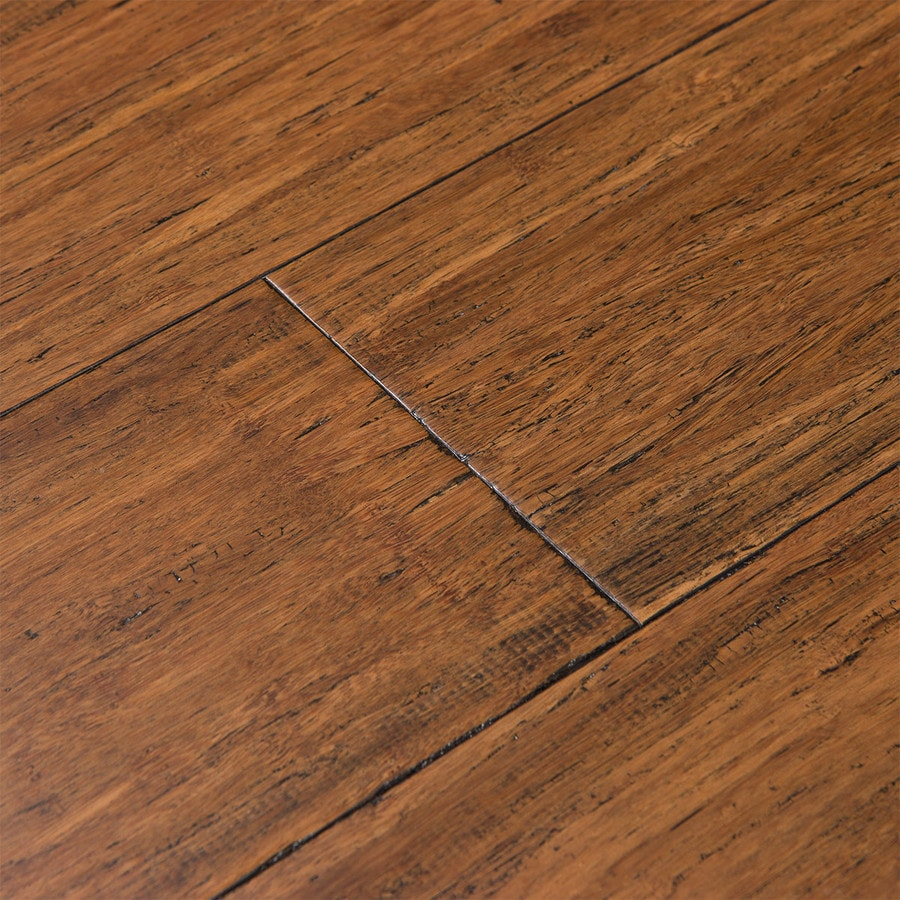 Cali Bamboo Fossilized 5 In Antique Java Bamboo Solid Hardwood