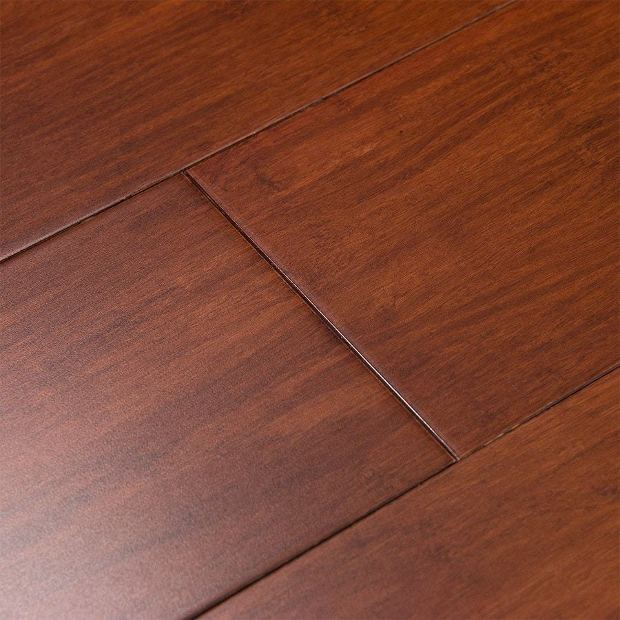 Cali Bamboo Fossilized 5-in Prefinished Cognac Bamboo Hardwood Flooring (27.01-sq ft)