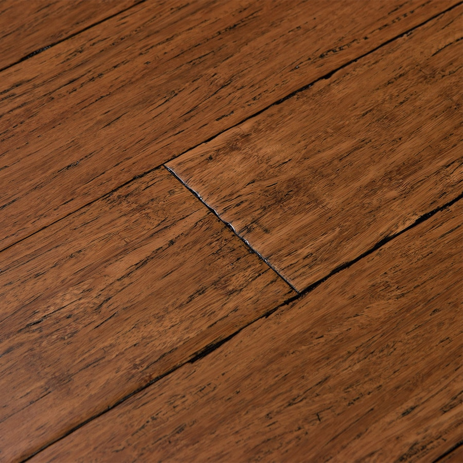 Shop cali bamboo fossilized antique java bamboo for Solid hardwood flooring