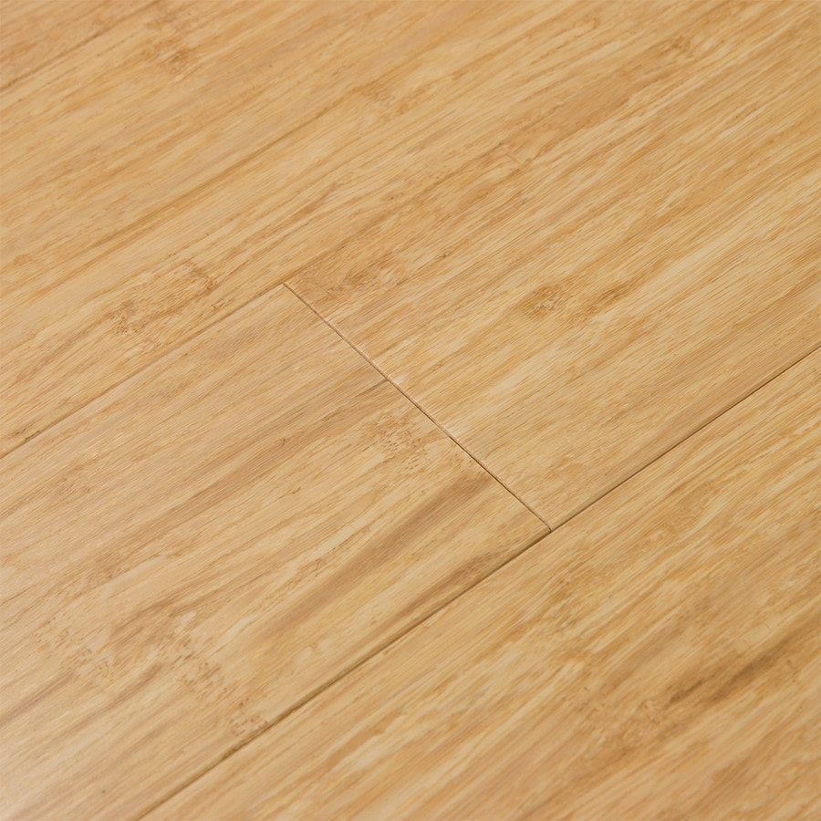 Shop cali bamboo fossilized prefinished natural for Hardwood flooring