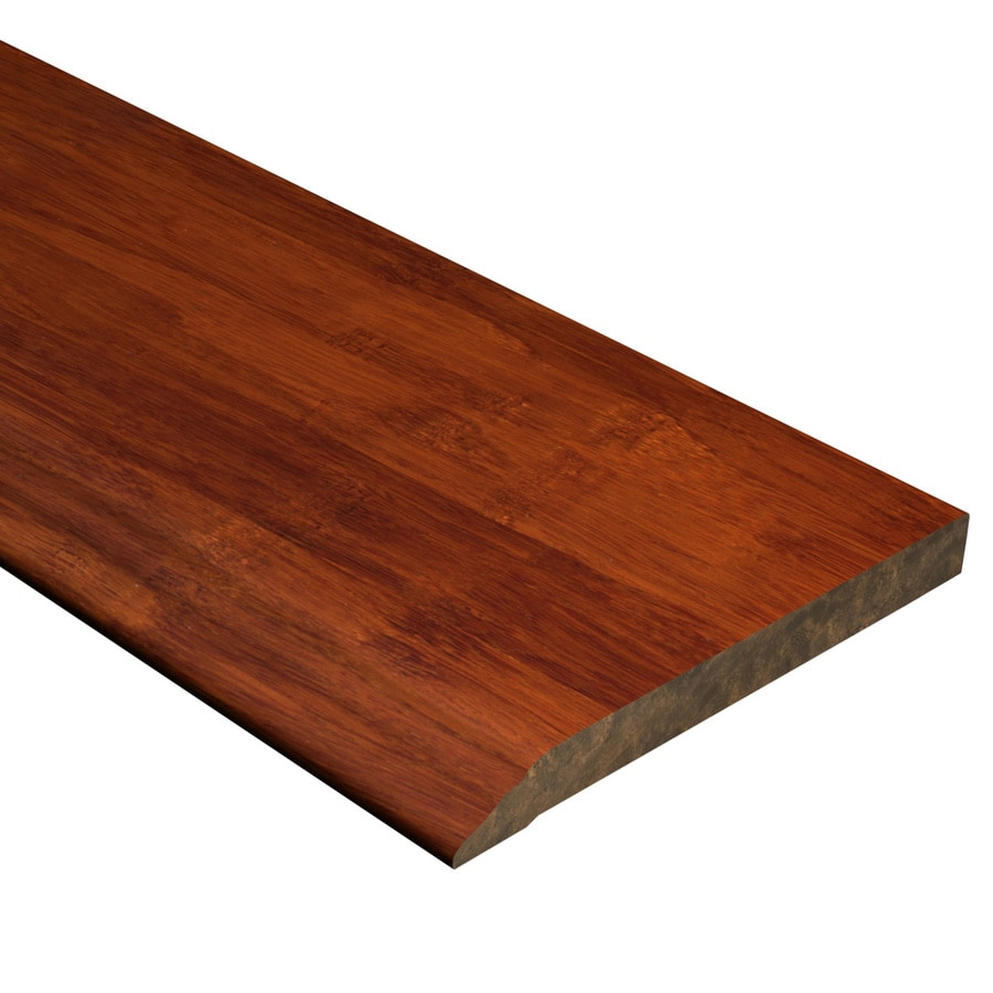 Cali Bamboo 0.5-in x 72-in Cognac Bamboo Base Floor Moulding