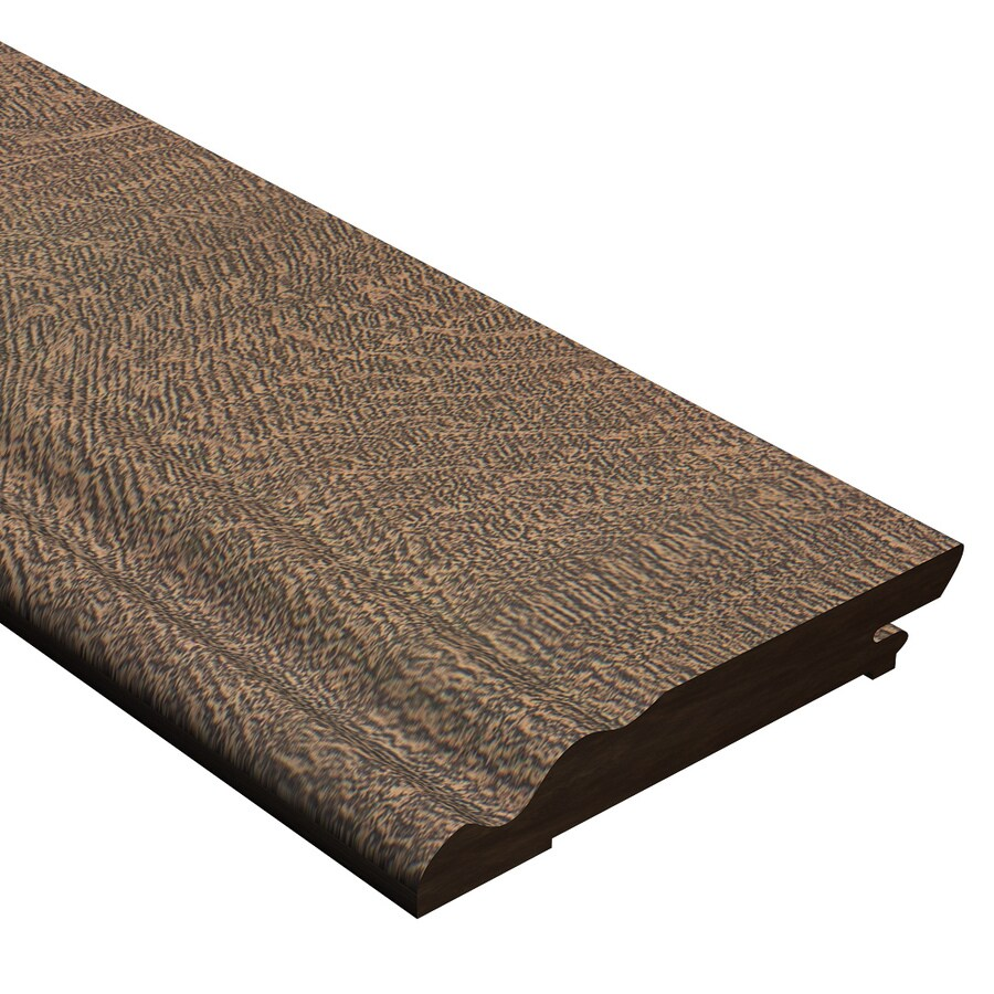 Cali Bamboo 0.56-in x 94-in Driftwood Cork Base Floor Moulding