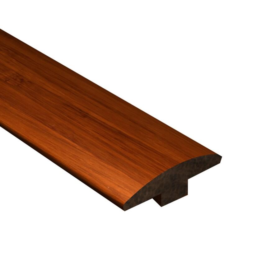 Cali Bamboo 2-in x 72-in Cognac Bamboo T-Moulding Floor Moulding