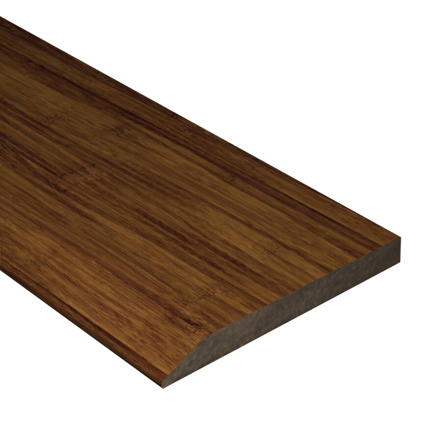 Cali Bamboo 0.5-in x 72-in Java Bamboo Base Floor Moulding