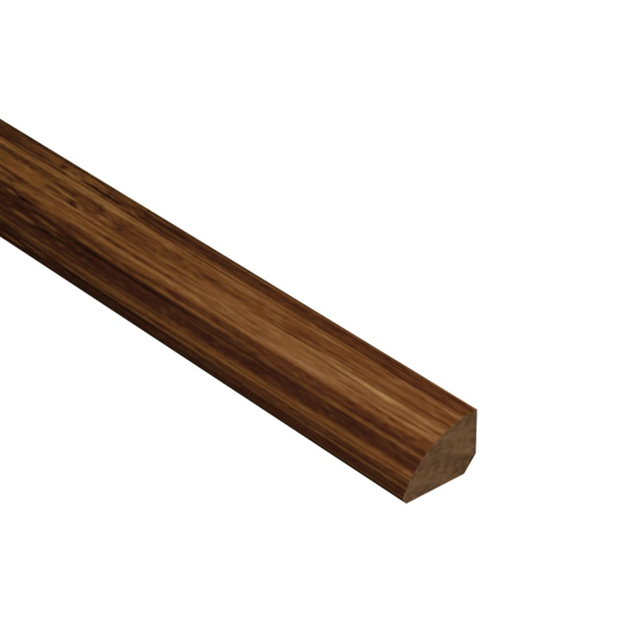 Cali Bamboo 0.75-in x 72-in Java Bamboo Quarter Round Floor Moulding