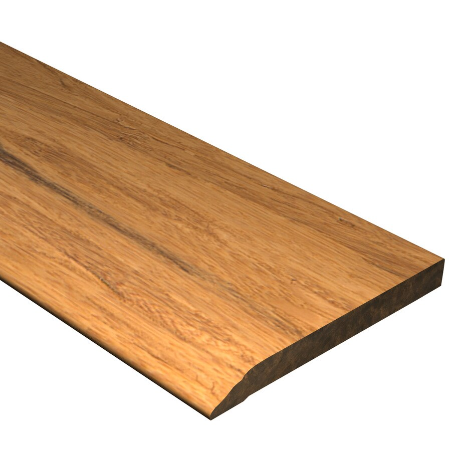 Cali Bamboo 0.5-in x 72-in Distressed Mocha Bamboo Base Floor Moulding