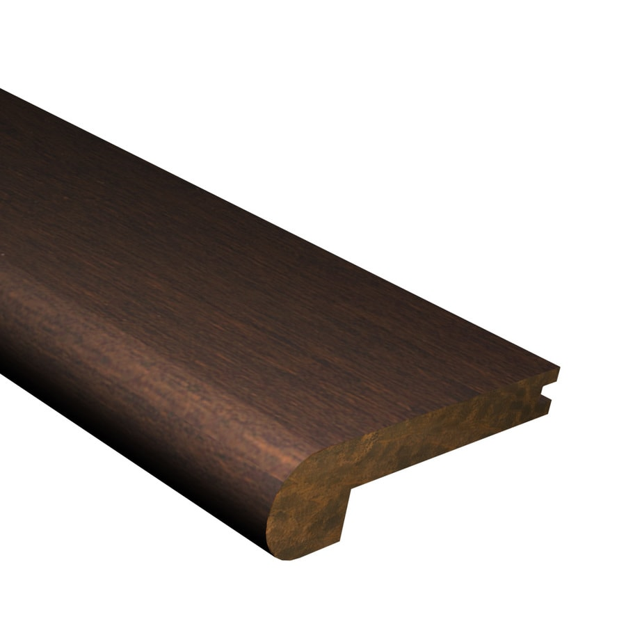 Cali Bamboo 2.875-in x 72-in Coffee Bamboo Stair Nose Floor Moulding