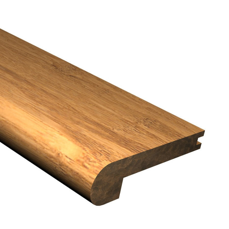 bamboo stair nose installation
