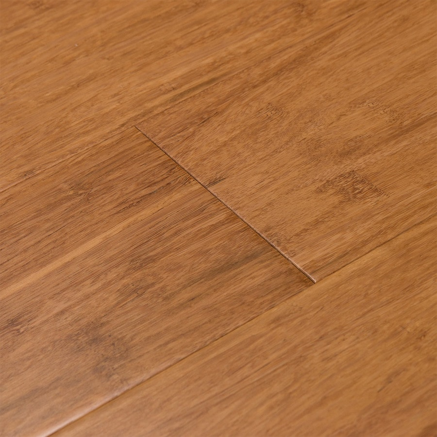Cali Bamboo Fossilized 5-in Mocha Solid Bamboo Hardwood Flooring (19.91-sq ft)