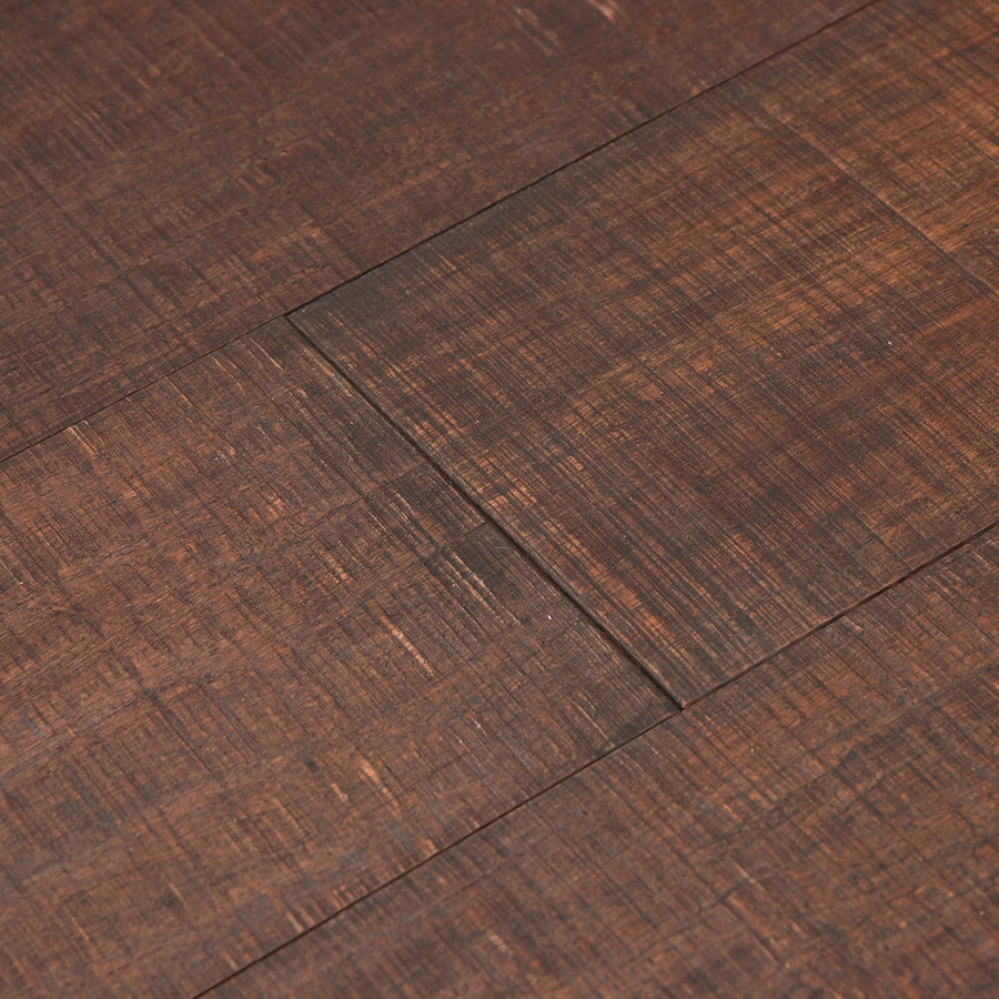 Cali Bamboo Fossilized 5-in Prefinished Rustic Barnwood Bamboo Hardwood Flooring (20.71-sq ft)
