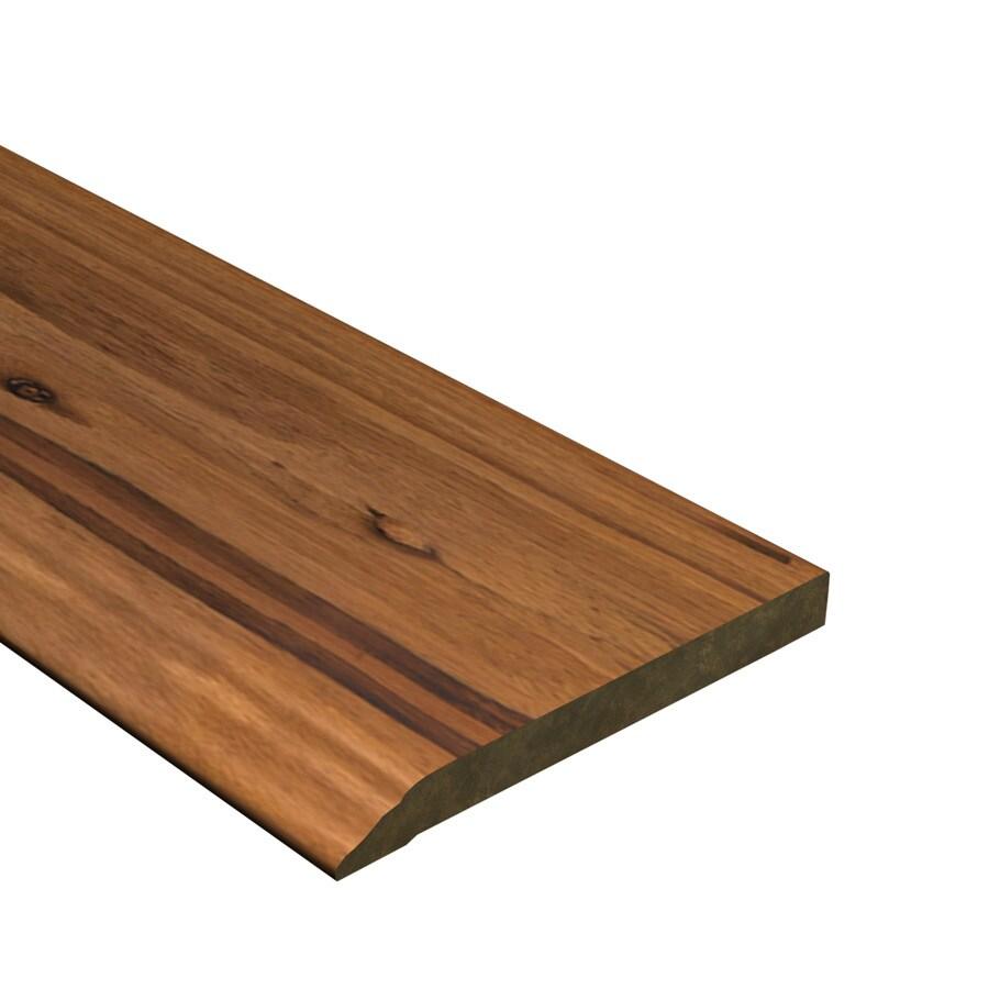 Cali Bamboo 0.56-in x 72-in Mocha Eucalyptus Base Floor Moulding