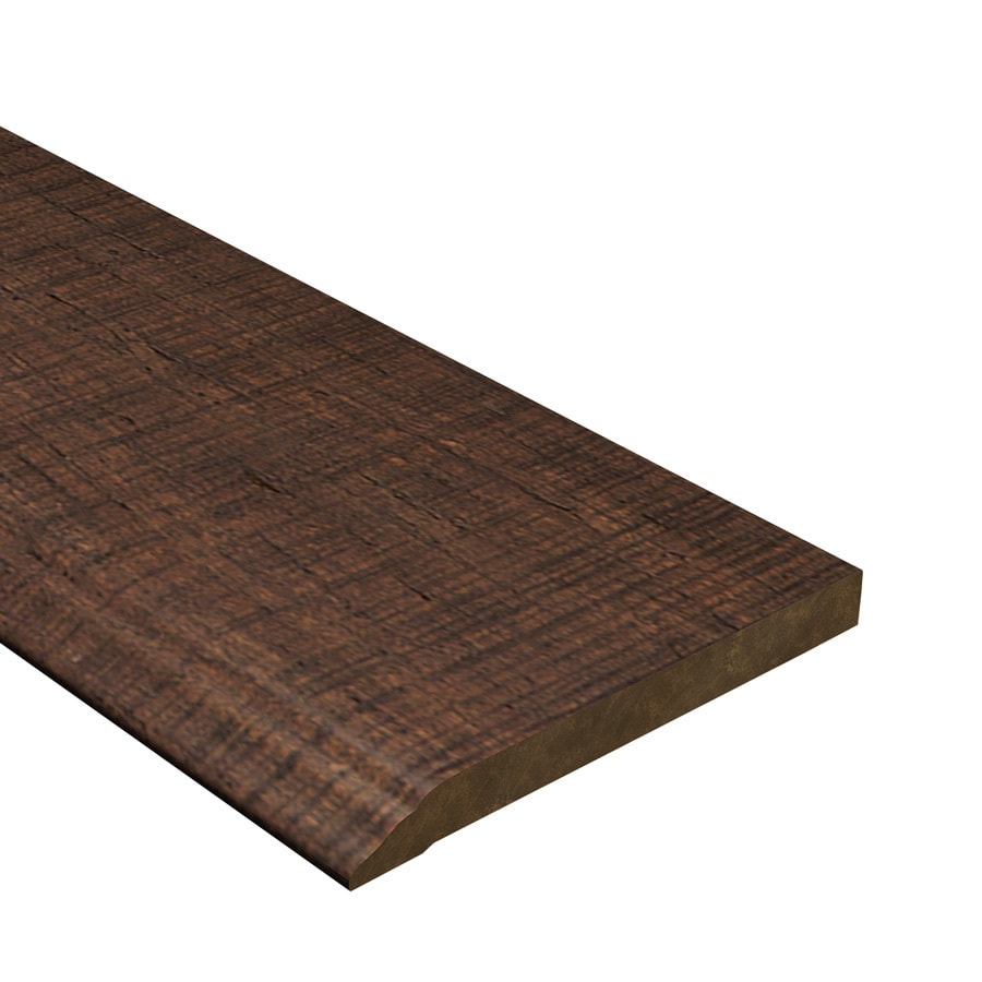 Cali Bamboo 0.56-in x 72-in Rustic Barnwood Bamboo Base Floor Moulding