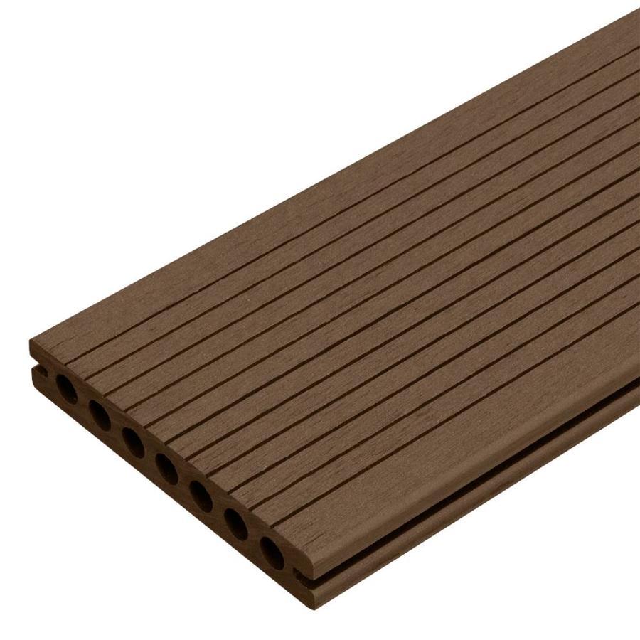 Shop Cali Bamboo Bamdeck 8 Ft Coffee Composite Deck Board