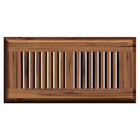 Cali Bamboo Mocha Brown Wood Floor Register Duct Opening 4 2 In X 9 8