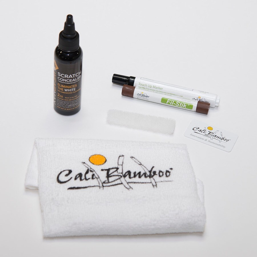 Cali Bamboo Dark Khaki Floor Care Kit