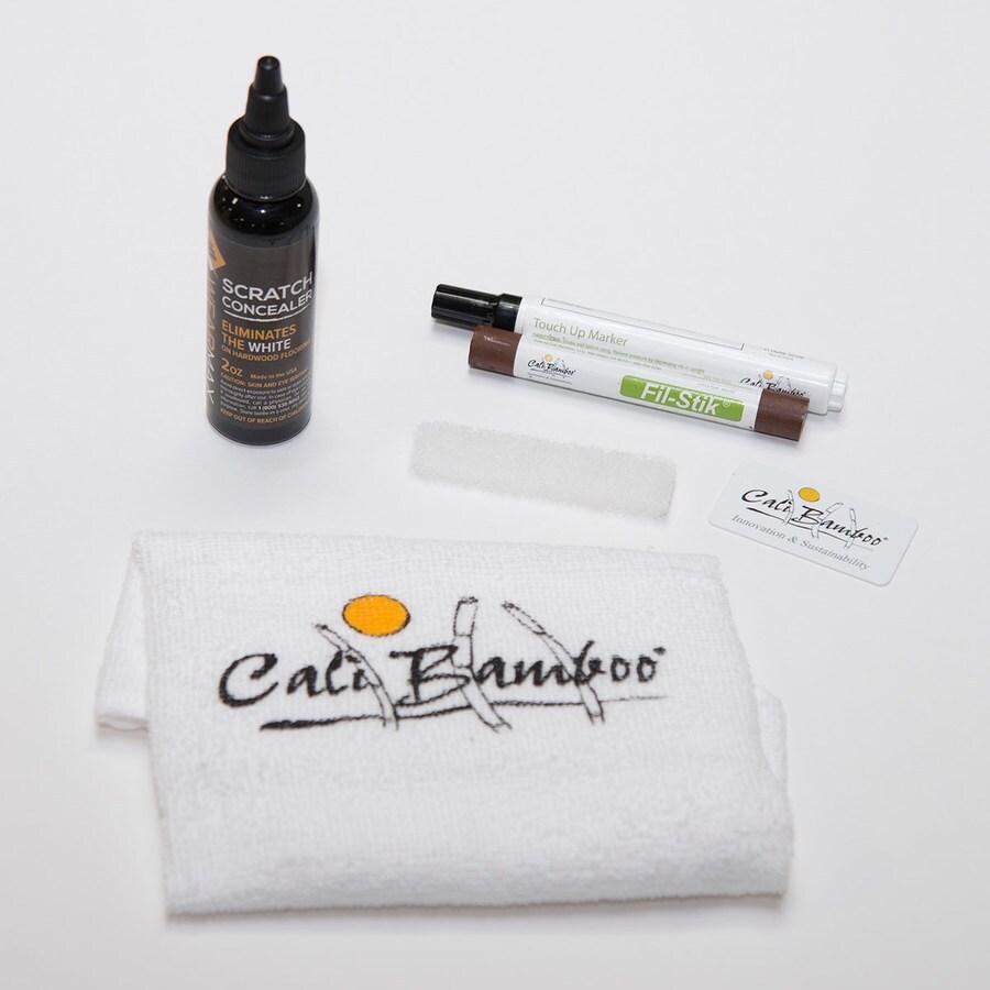 Cali Bamboo Light Gray Floor Care Kit