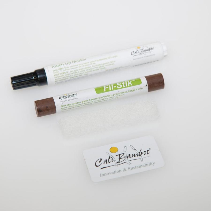 Cali Bamboo Cream/White Floor Care Kit