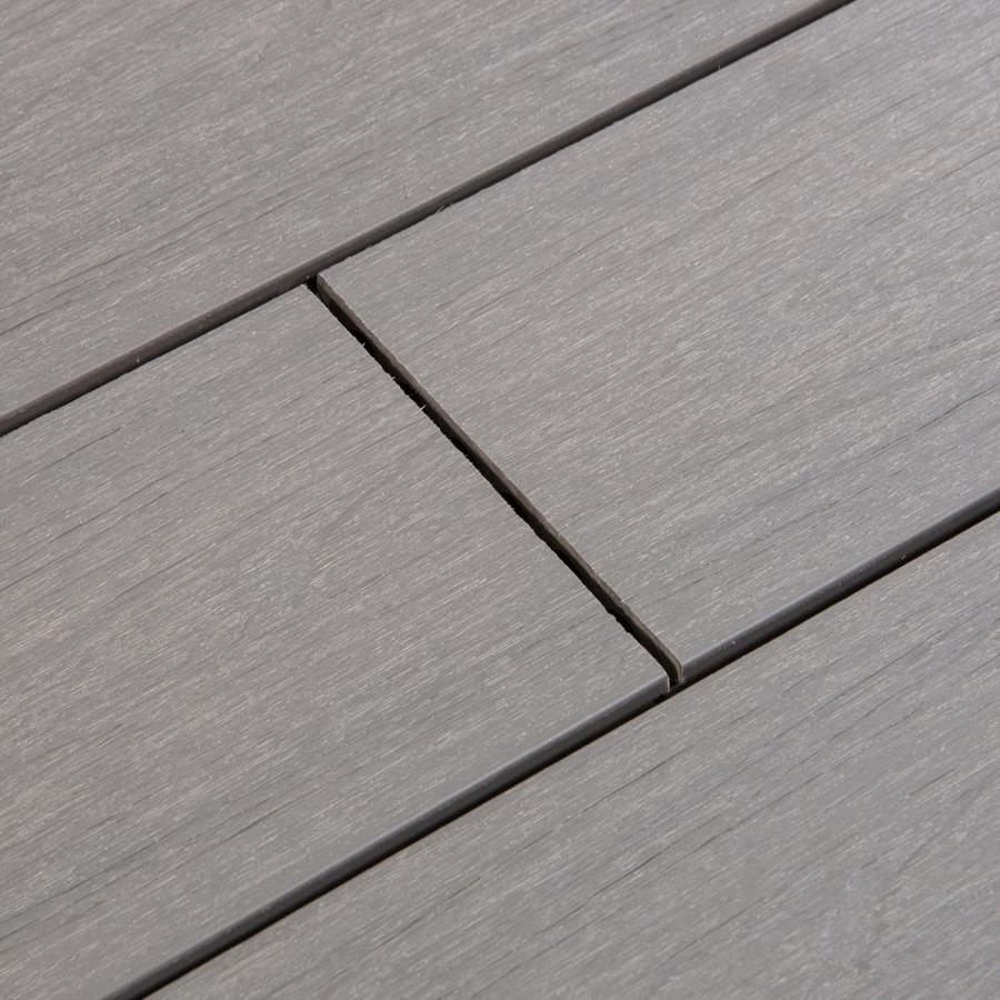 Cali Bamboo (Actual: 0.875-in x 5.44-in x 16-ft) TruOrganics Tahoe Grooved Composite Deck Board