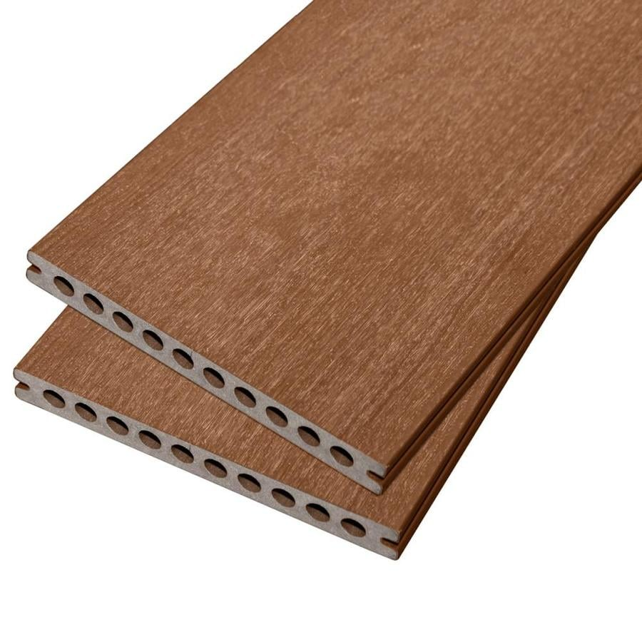 Cali Bamboo (Actual: 0.875-in x 8.25-in x 8-ft) TruOrganics Sedona Grooved Composite Deck Board