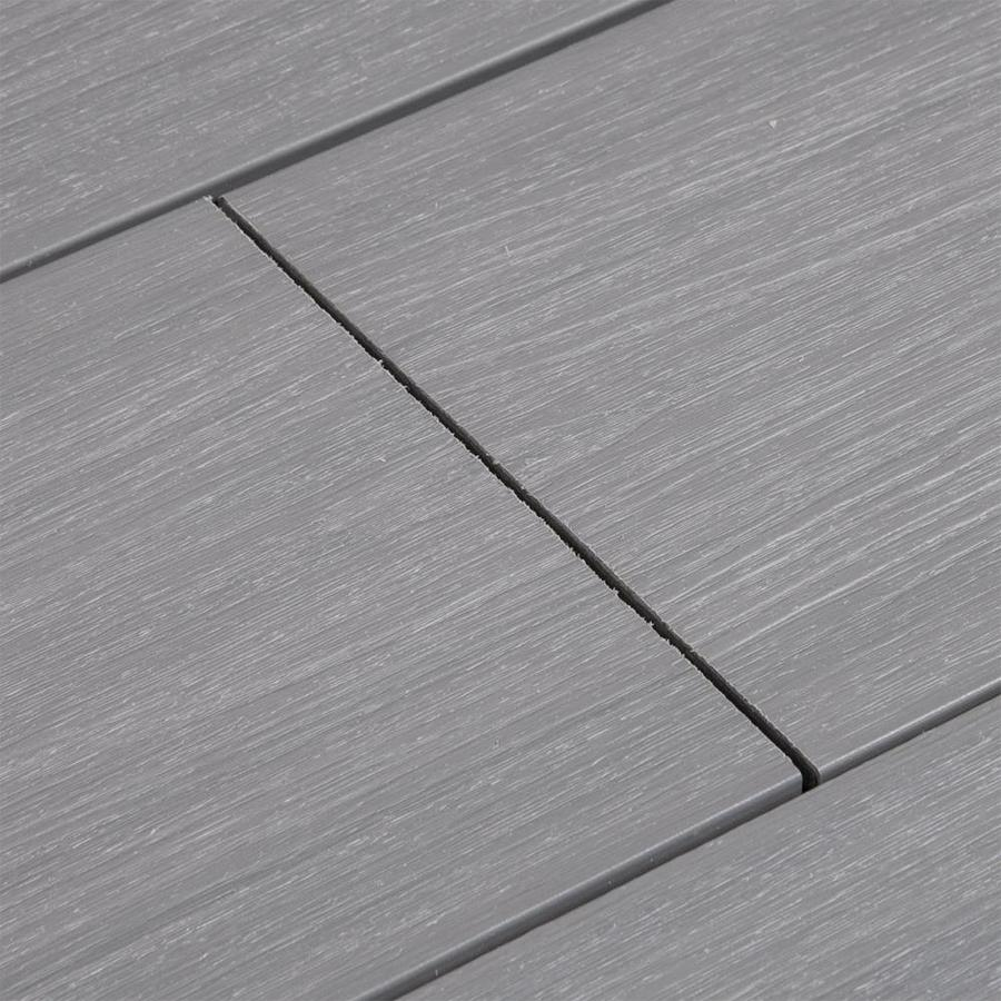 Cali Bamboo TruOrganics 8-ft Tahoe Grooved Composite Deck Board