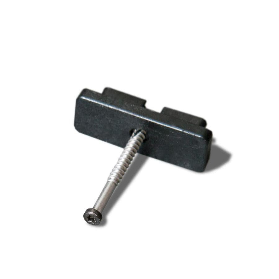Cali Bamboo 90 Count 1.5-in Hex Washer-Head Black Star-Drive Deck Screw