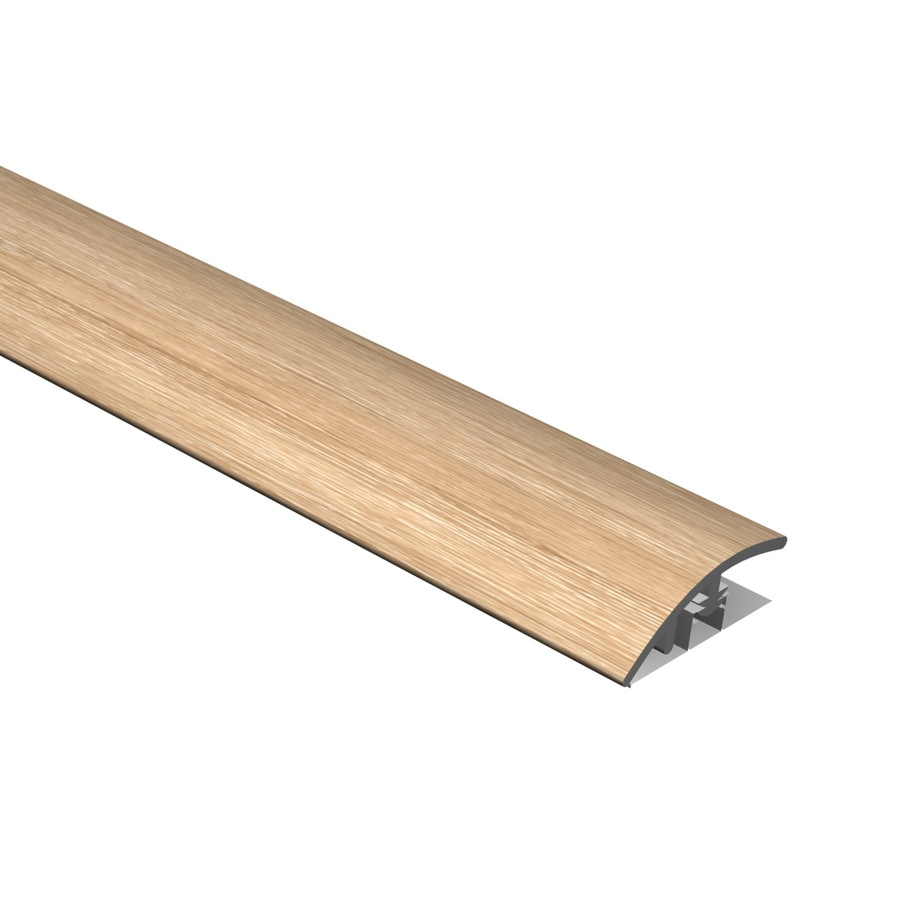 Cali Bamboo 0.51-in x 94.48-in Aged Hickory Reducer Floor Moulding