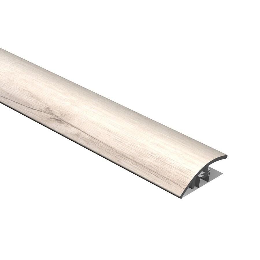Cali Bamboo 0.51-in x 94.48-in White Aspen Reducer Floor Moulding