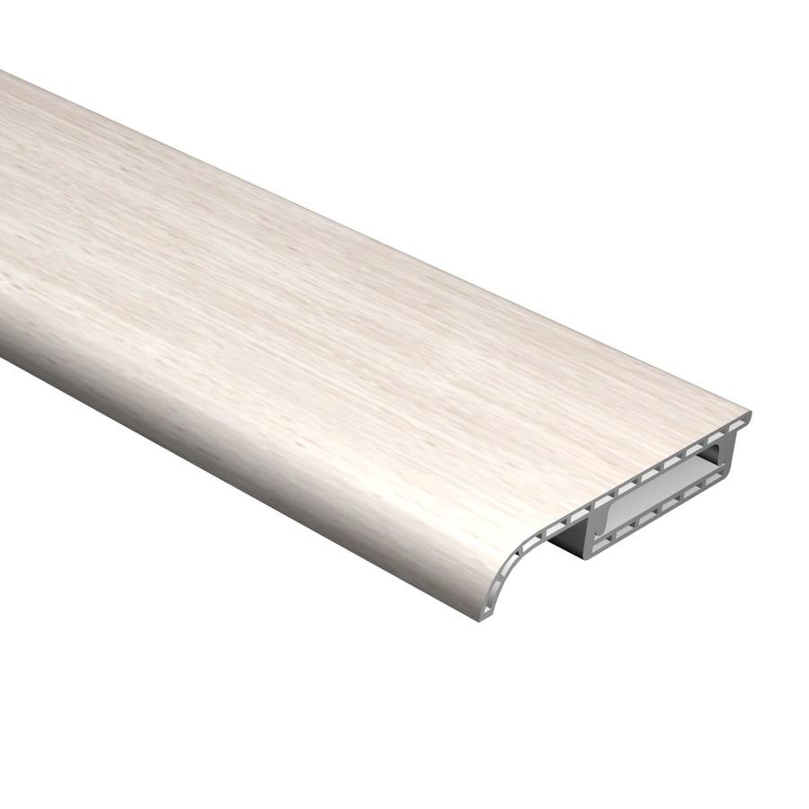 Cali Bamboo 0.63-in x 94.48-in White Aspen Base Floor Moulding