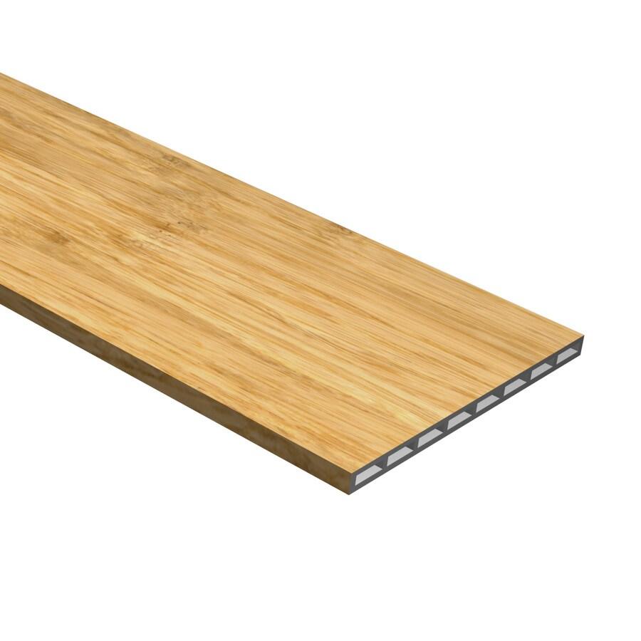 Cali Bamboo Natural 7.5-in x 48.03-in Natural Vinyl Stair Risers