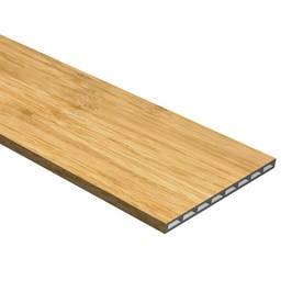 Cali Bamboo Natural 7.5 In X 48.03 In Natural Vinyl Stair Risers