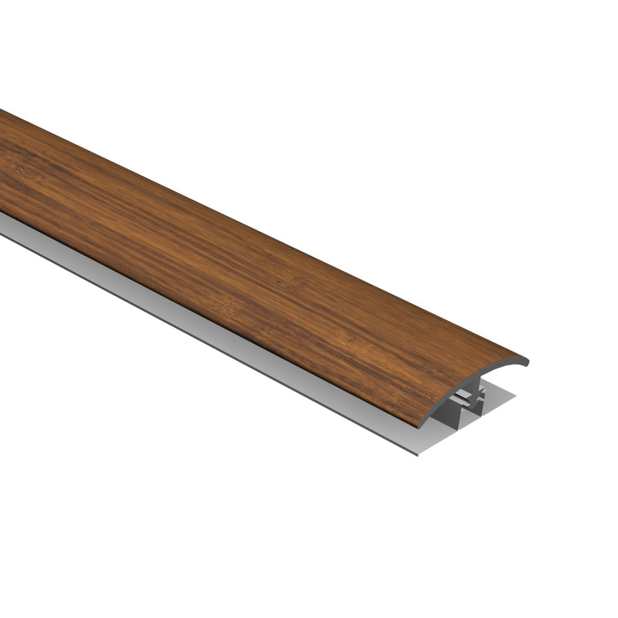 Cali Bamboo 0.53-in x 94.48-in Java T-Moulding Floor Moulding