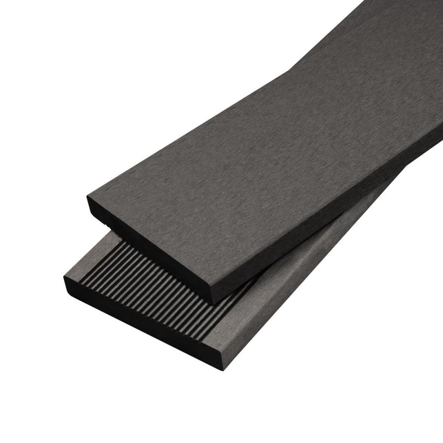 Cali Bamboo BamDeck 8-ft Charcoal Composite Deck Board