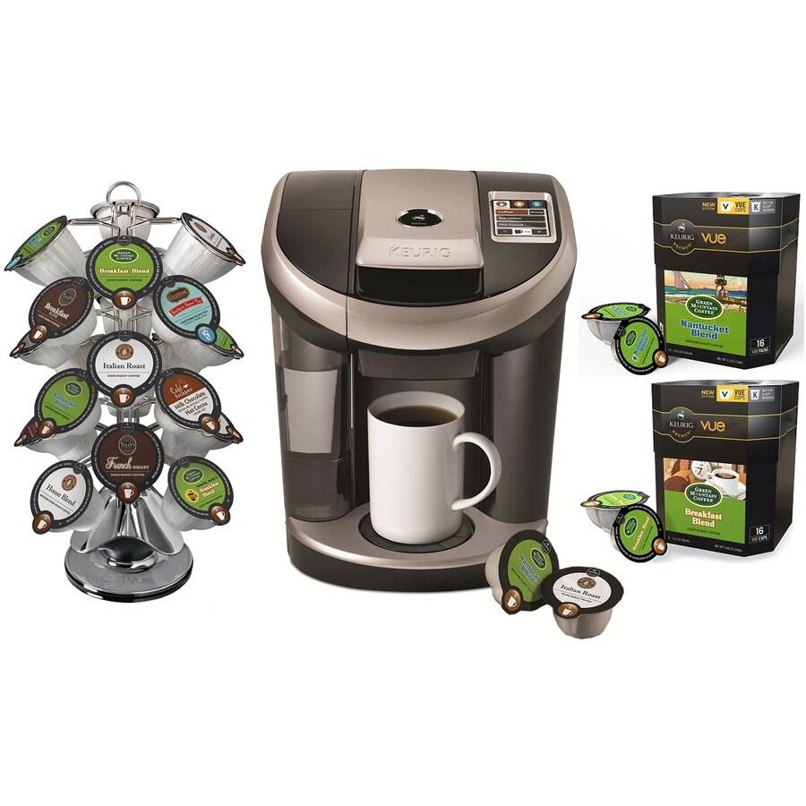 Single Cup Coffee Maker Lowes : Shop Keurig Black Programmable Single-Serve Coffee Maker at Lowes.com