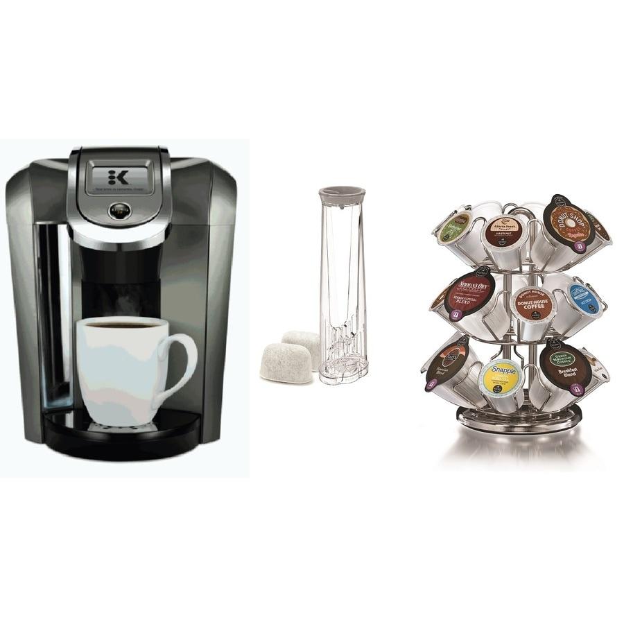 Keurig Black Programmable Single-Serve Coffee Maker