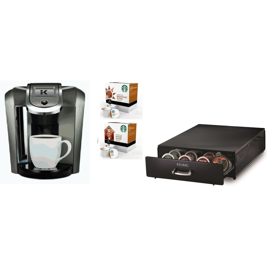 Single Serve Coffee Maker With Large Reservoir : Shop Keurig Black Programmable Single-Serve Coffee Maker at Lowes.com