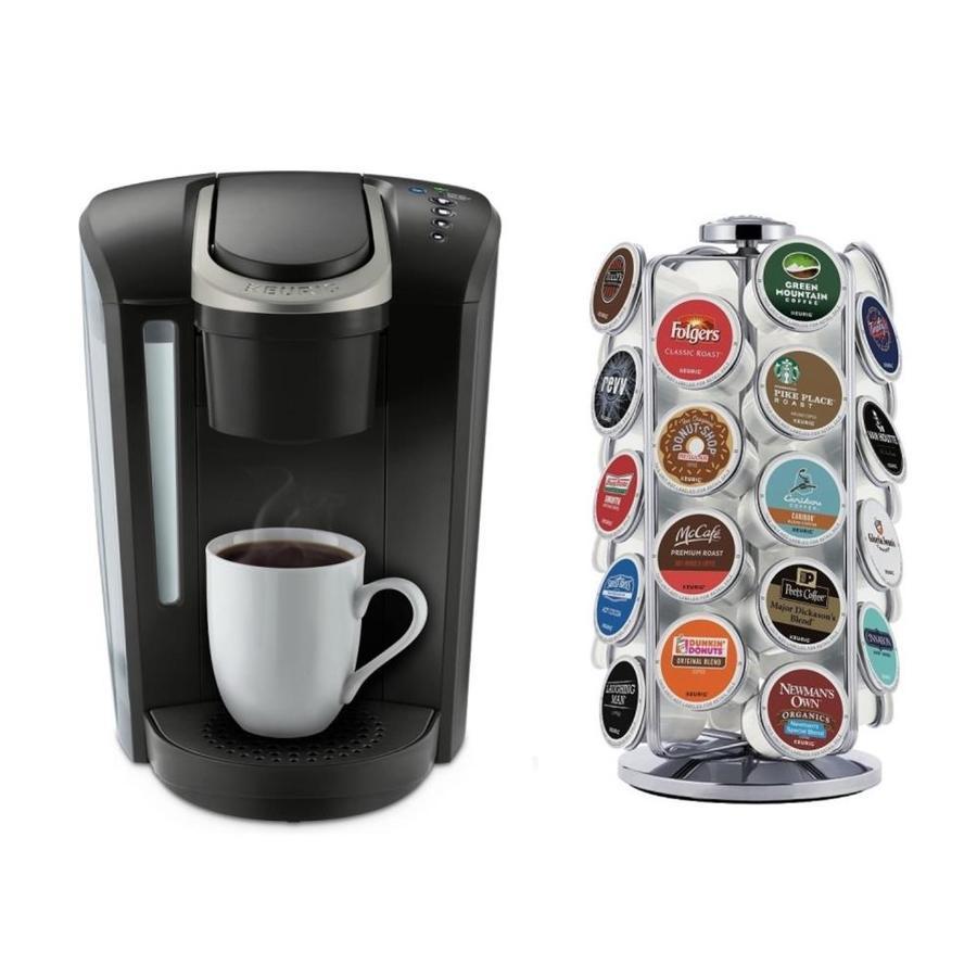 Keurig K Select Black Programmable Single Serve Coffee Maker At