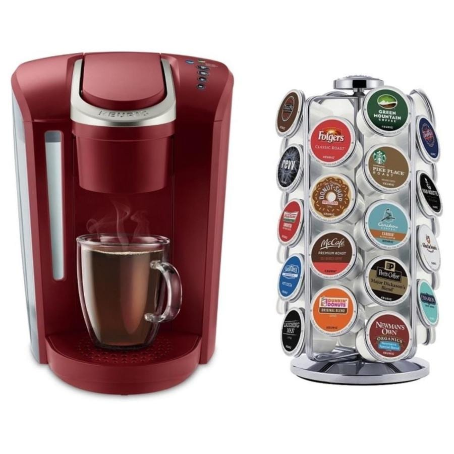 Keurig K Select Red Programmable Single Serve Coffee Maker At Lowescom