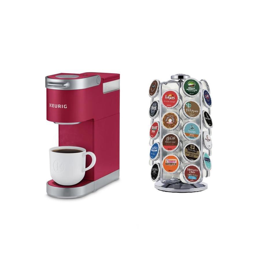 Keurig K-Mini Plus Cardinal Red Single-Serve Coffee Maker ...