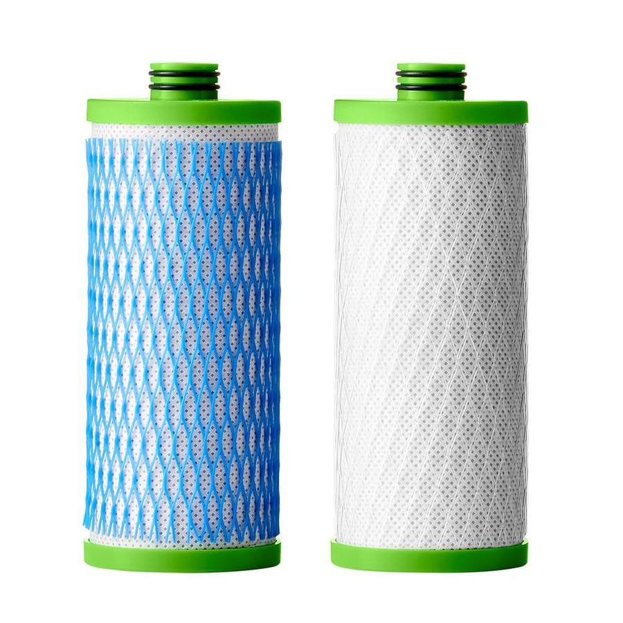 A O Smith Clean Water 2 Stage System Pack Carbon Block Under Sink Replacement Filter In The Replacement Water Filters Cartridges Department At Lowes Com