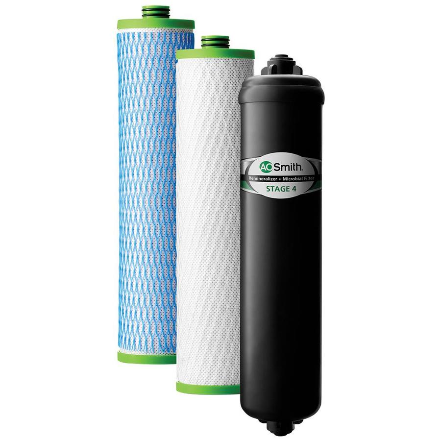 A O Smith Set Under Sink Replacement Filter At Lowes Com