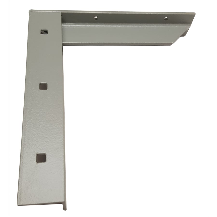 CounterBalance Concealed Bracket 12-in x 2-in x 11-in Gray Countertop Support Bracket
