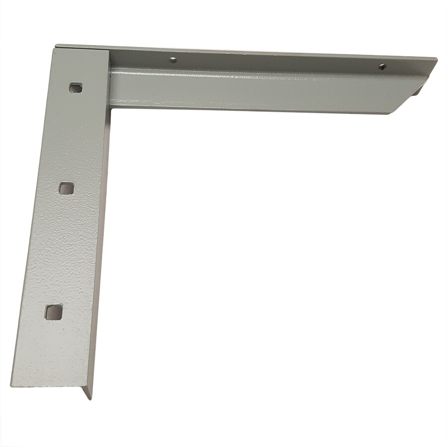Counterbalance Concealed Bracket 12 In X 2 14 Gray Countertop Support