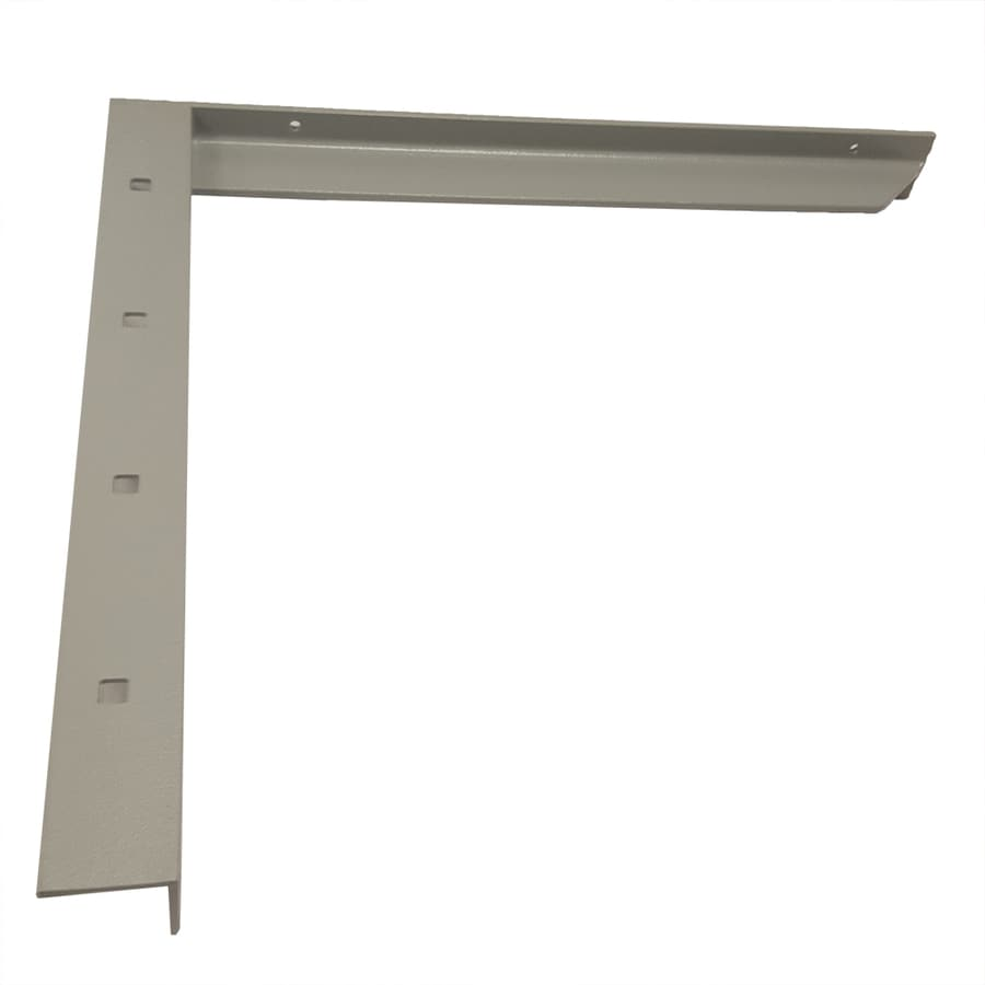 CounterBalance Concealed Bracket 18-in x 2-in x 20-in Coated Countertop Support Bracket
