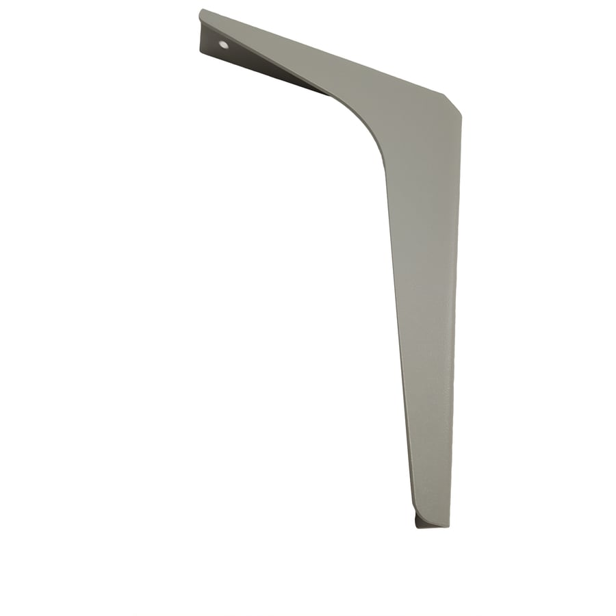 CounterBalance Workstation Bracket 8-in x 12-in, Gray
