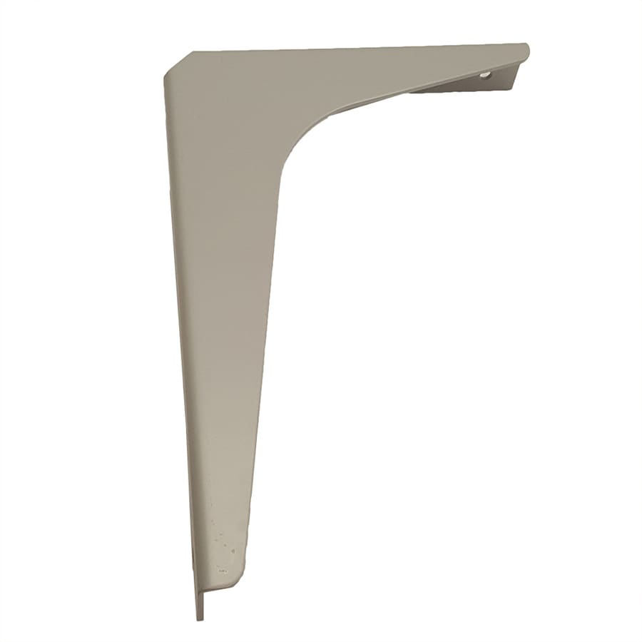 CounterBalance Workstation Bracket 8-in x 1.54-in x 12-in Coated Countertop Support Bracket